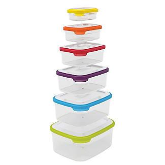 Joseph Joseph Nest Storage 6 Piece Food Container Set Multi Colour alt image 5