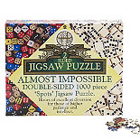 Impossipuzzle Dice and Dominos Jig-Saw