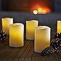 6 LED Candles