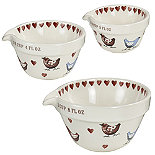 Love Birds 3 Measuring Cups