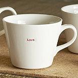 Keith Brymer Jones 'Love' Bucket Mug