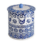 Emma Bridgewater Blue Hen Biscuit Barrel