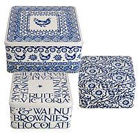 Emma Bridgewater Blue Hen Cake Tins