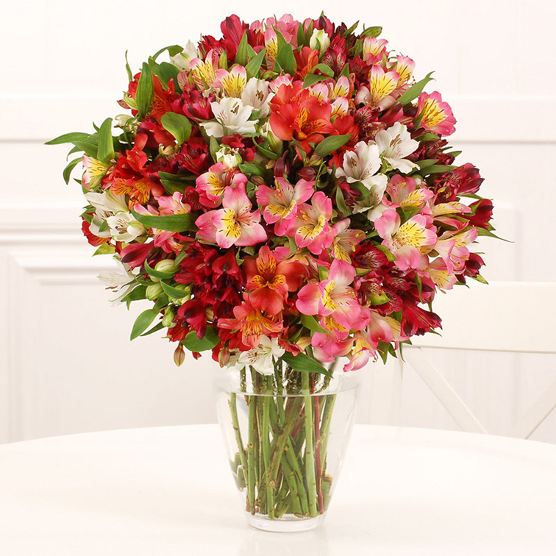 Alstroemeria Bouquet With Free Express Delivery