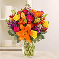 Summer Bright Bouquet With Free Express Delivery