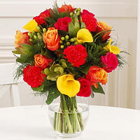 Summer Sky Bouquet With Free Express Delivery