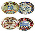 4 Camembert Plates