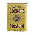Coleman's Mustard Tin