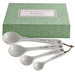 Sophie Conran 4 Measuring Spoons