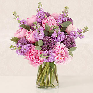 British Peonies Bouquet with free Express delivery alt image 1