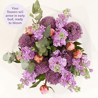 British Peonies Bouquet with free Express delivery alt image 3