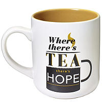 Where There's Tea Mug