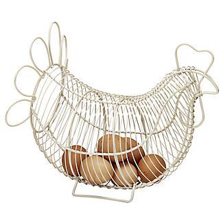 Eierkorb aus Draht