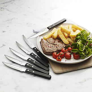 Robert Welch® 6 Stainless Steel Cutlery Steak Knives Gift Set alt image 2