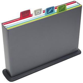 Joseph Joseph® Index Graphite Large Chopping Board alt image 2