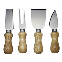 4pc Cheese Serving Knife Gift Set