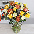 Springtime Rose Bouquet With Free Express Delivery