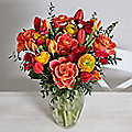 Springtime Sunset Bouquet With Free Express Delivery