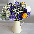 Spring Jug Bouquet With Free Express Delivery