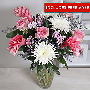 Tropical Dawn Bouquet With Free Express Delivery
