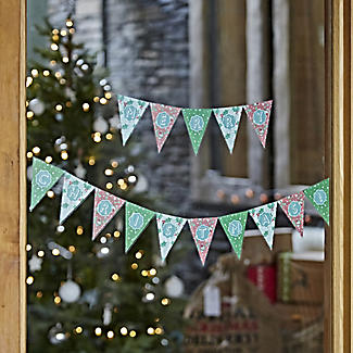 Christmas Window Bunting Decoration alt image 2