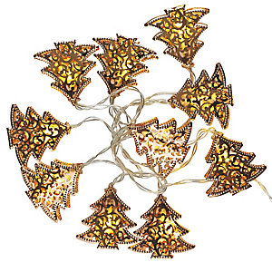 LED Filigree Tree Garland