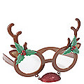 Red Nose Reindeer Glasses