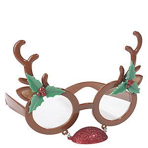 Red Nose Reindeer Glasses