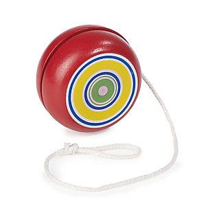 Red Swirl Yo-Yo