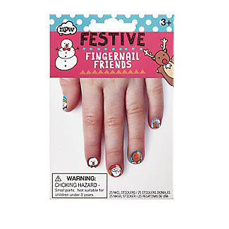 Fingernail Friends Festive