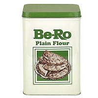 Be-Ro Retro Airtight Food Storage Gift Tin - Small Plain Flour