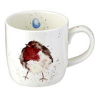 Robin Royal Worcester Mug