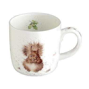 Red Squirrel Royal Worcester Mug