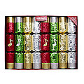 HandBell Musical Christmas Crackers - Pack of 8