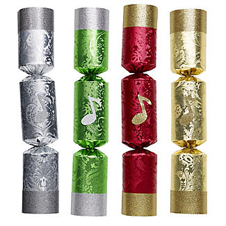 Handbell Musical Christmas Crackers - Pack of 8 alt image 2