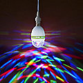 Spinning Party Light Bulb