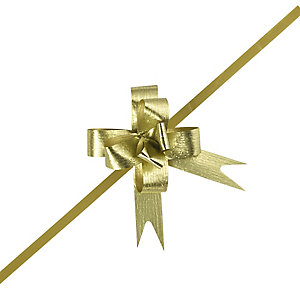 Small Gold Easy Pull Bows