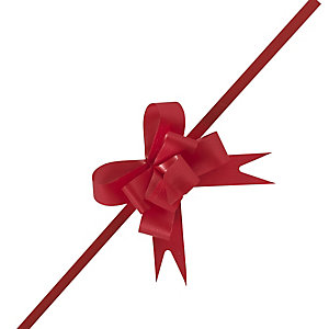 Large Red Easy Pull Bow