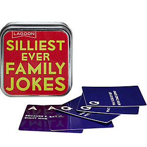 Family Jokes Tin