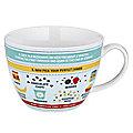 Perfect Porridge In A Mug - Gift Mug With Recipe & Instructions
