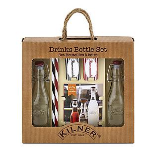 Kilner® Drinks Bottle Set