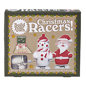 Make-Your-Own Christmas Racers
