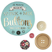 50 Pick And Mix Buttons