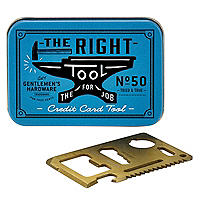 Gentlemans Hardware Credit Card Tool