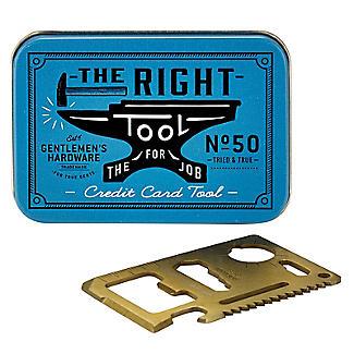 Gentlemen's Hardware Kreditkarten-Werkzeug