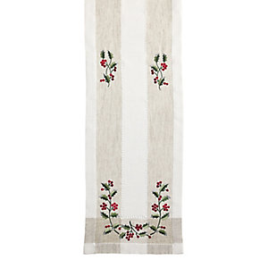 Vintage Holly Runner