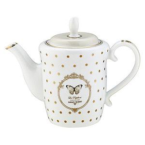 Elegance Porcelain 1L Teapot - Gift Boxed
