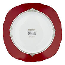 Bistrot Porcelain Snack Serving Plate