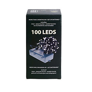 100 LED Warm White