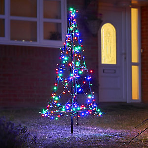 Fairybell® Outdoor Coloured Christmas Tree